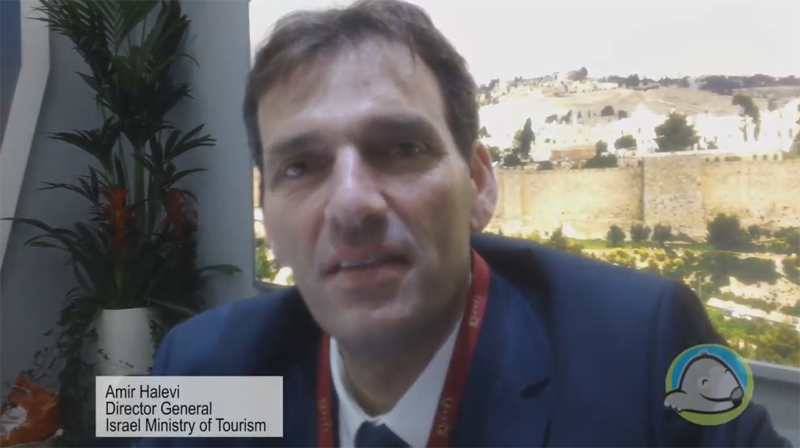 Interview with Amir Halevi from the Israel Ministry of Tourism at WTM 2015