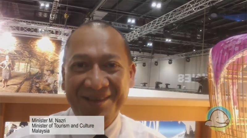 Interview with M. Nazri from the Ministry of Tourism and Culture - Malaysia at WTM 2015