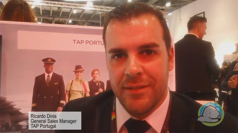 Interview with Ricardo Dinis from TAP Portugal at WTM 2015