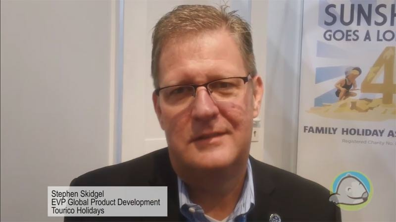 Interview with Stephen Skidgel from Tourico Holidays at WTM 2015