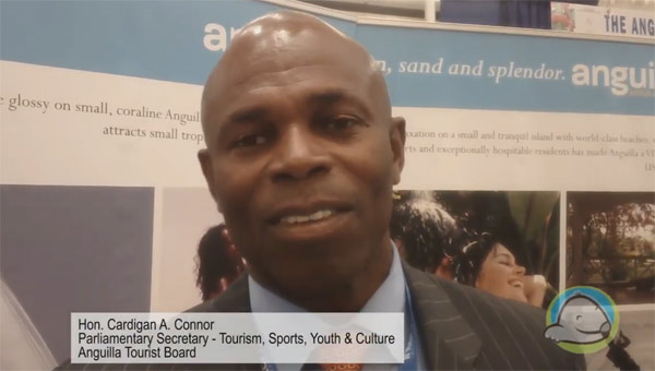 Interview with Anguilla Tourist Board, Mr. Cardigan Connor - Parliamentary Secretary with Responsibility for Tourism, Sports, Youth & Culture Ministry of Tourism