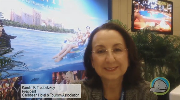 Interview with Karolin Troubetzkoy, President of the Caribbean Hotel & Tourism Association, and Executive Director of St. Lucia
